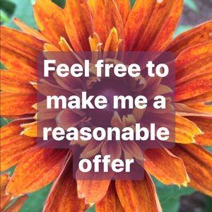 ✨Make Me a Reasonable Offer ✨